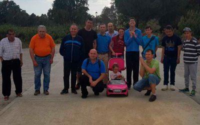 Visita y actividades de la Residencia de Adultos El Cristo Roto a la Vía Verde de Gibraleón