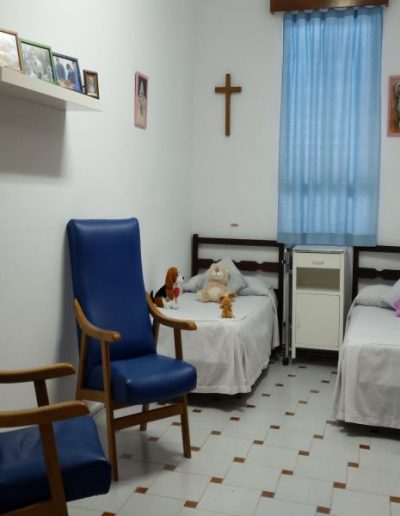 Dormitorio doble de adultas