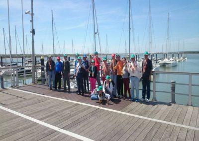 Excursión al puerto de Huelva