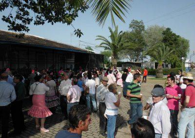 Los romeros visitan Cristo Roto