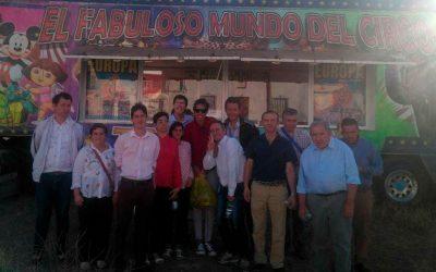 La Residencia de Adultos 'El Cristo Roto' disfrutó del espectáculo mágico del Circo Europa