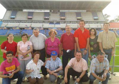 Visita al Estadio Colombino de Huelva